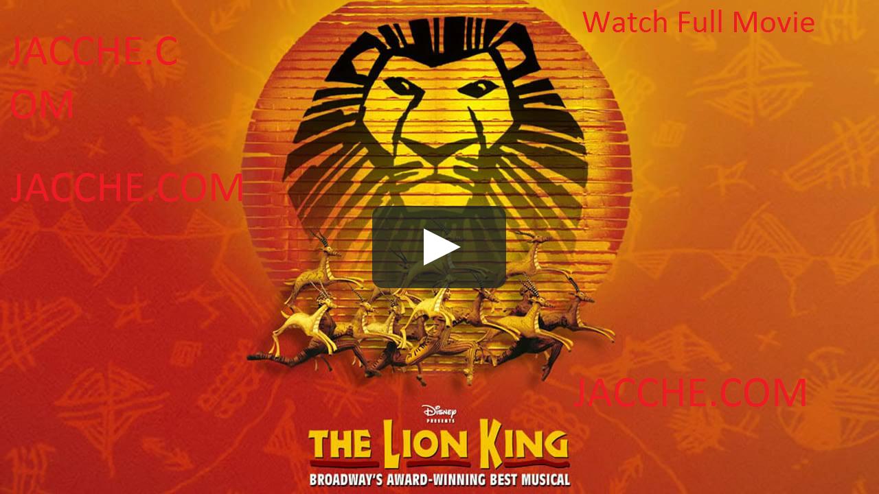 The Lion King Full Movie