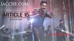 article 15 Full Movie